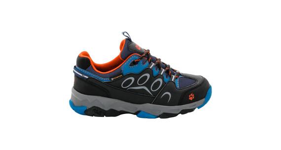 Jack Wolfskin MTN Attack 2 Texapore Low - Chaussures Enfant - gris/bleu